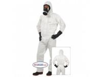 Indutex Σειρά Spray Guard Light κατηγορίας 3,  τύπου 4Β για πλήρη προστασία από πυρηνικούς, βιολογικούς και χημικούς κινδύνους (NBC).  Αντιστατική.  Εναρμονισμένη με τα πρότυπα IEC EN 1073, EN14126 και EN 14605 και ΕΝ 1149.