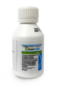 Icon 2,5 cs απολύμανση απεντομωση  80ml Για κατσαρίδες σκορπιους κουνούπια μύγες μυρμήγκια εντος κ εκτος σπιτιου αοσμο