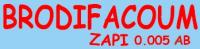BRODIFACOUM ZAPI 0.005 AB