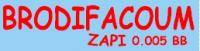 BRODIFACOUM ZAPI 0.005 BB ποντικοφαρμακο