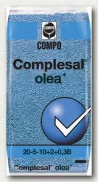A Ελιας ΛΙΠΑΣΜΑ ΚΟΚΚΩΔΕΣ ΚΟΜΠΛΕΖΑΛ COMPLESAL olea  20-5-10 +2Mgo +0,3borio+ΜΑΓΝΗΣΙΟ+ΙΧΝΟΣΤΟΙΧ