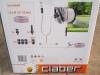 8884 aquapony kit claber τροχός με λάστιχο 15m και συνδεσμολογια