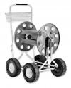 Claber 8900 μεταλλικο καρουλι επαγγελματικο για 100 μετρα λαστιχο με ρωδες made in italy