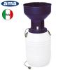 Ama italy Nova μύλος ζωοτροφών με δοχειο 1200w 50Lt μεταλλική χοανη 1,6hp 220volt ηλεκτρικός 50-15kg  ανά ώρα