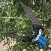 A Atrax 1600 αέρος ελαιοραβδιστικο 1,1kg. Spacesonic ATRAX 1600 αέρος ελαιοραβδιστικο 1,1kg.με ειδικά σχεδιασμενα αποσπωμενα ευέλικτα χτένια με 1600 χτυπήματα το λεπτό.τιμη προσφορά τιμές προσφοράς 239 ευρώ. + Κοντάρι 1m- 93ευρώ.1,5μ-105ευρω.2μ-117ευρω.2,