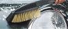 Σκουπακι  νερου βουρτσα με  διακοπτη νερου για πλυσιμο καθαρισμα αυτοκινητου χαλια πατωματα πατζουρια καγκελα τεντες τζαμια κτλ claber made in italy