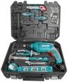 Σετ δράπανος κρουστικο 650w με 101 εργαλεία total