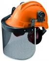 Κράνος forestry  kapriol Italy Italian design  δάσους υλοτομία υλοτομου Ασφάλειας ανθεκτικο στην πρόσκρουση με ενσωματωμένο ακουστικά SNR 24db.προτυπο ΕΝ 352-3 ΕΝ 397 ΕΝ 1731