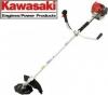 """A  Kawasaki TJ 53 tj53e Με μπαστούνι samurai της bluebirt .Kawasaki Japan θαμνοκοπτικο  Βενζίνη 2τ  Κινητήρας με χειρόμιζα """"easy start""""  Κυβισμος: 53.2 c.c. Ισχυς: 3,3 HP Στροφες: 8500 rpm Χωρητικοτητα ρεζερβουαρ: 1.1 lt Καυσιμο: Μιξη αμολυβδης βενζινης μ"""