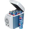Ηλεκτρικό φορητό ψυγείο 6 λίτρων χωρητικότητας για τρακτέρ και Αμαξι ιχ. 12 volt .  Τώρα μπορείτε να απολαύσετε τα ροφήματα και τους χυμούς σας δροσερά ακόμα και αν ταξιδεύετε με το αυτοκίνητο ή αν πάτε για μπάνιο στην παραλία.  Λειτουργεί με 12V